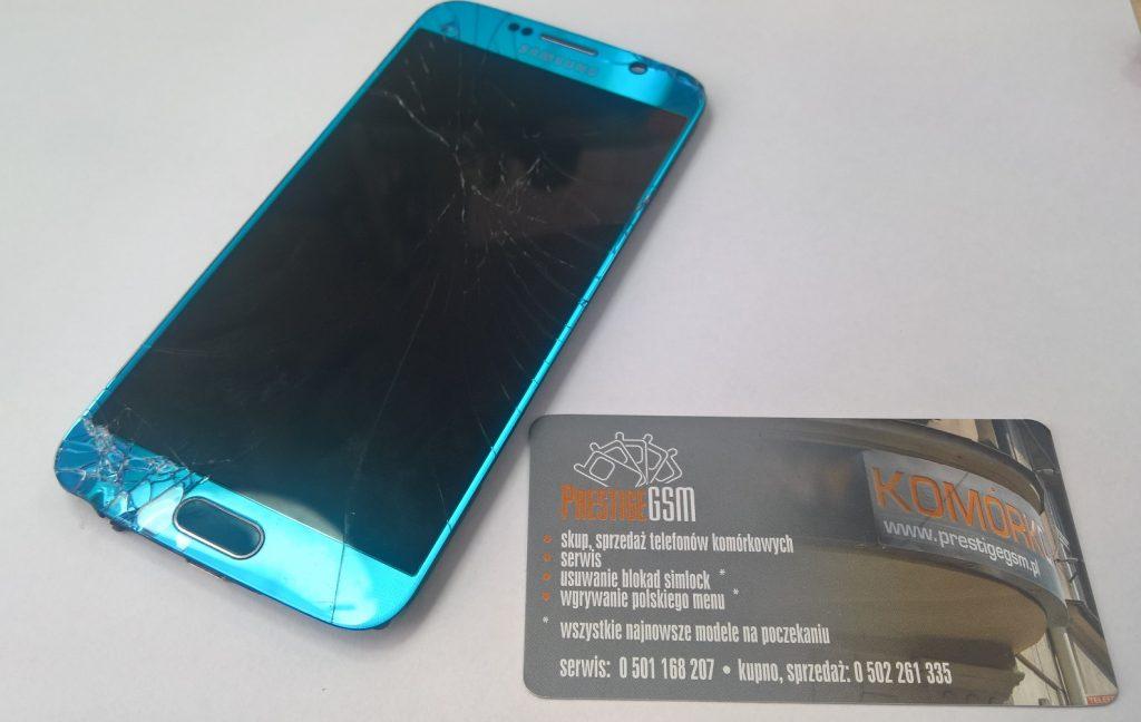 Wymiana szybki i wyświetlacza w modelach Samsung | Serwis telefonów Kraków Prestige GSM